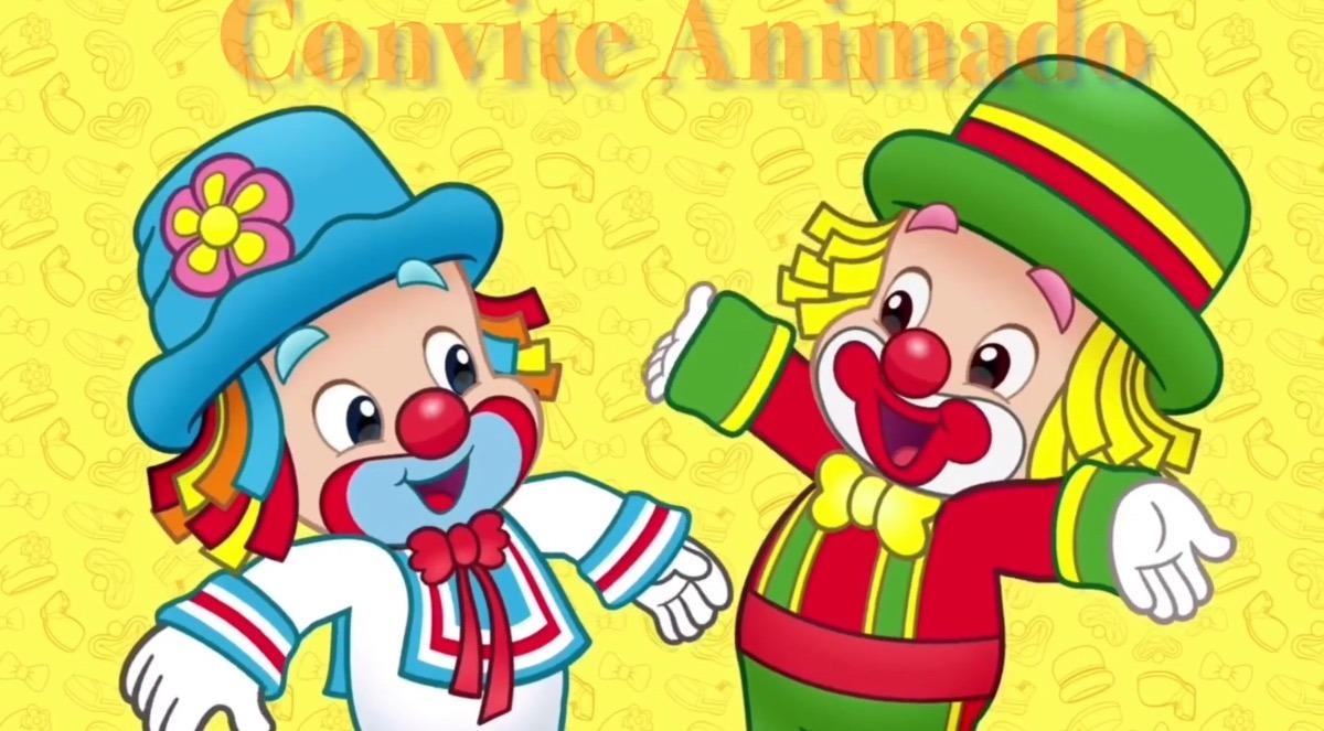 Convite Animado Virtual Festa Patati Patatá Vídeo R 2000 Em