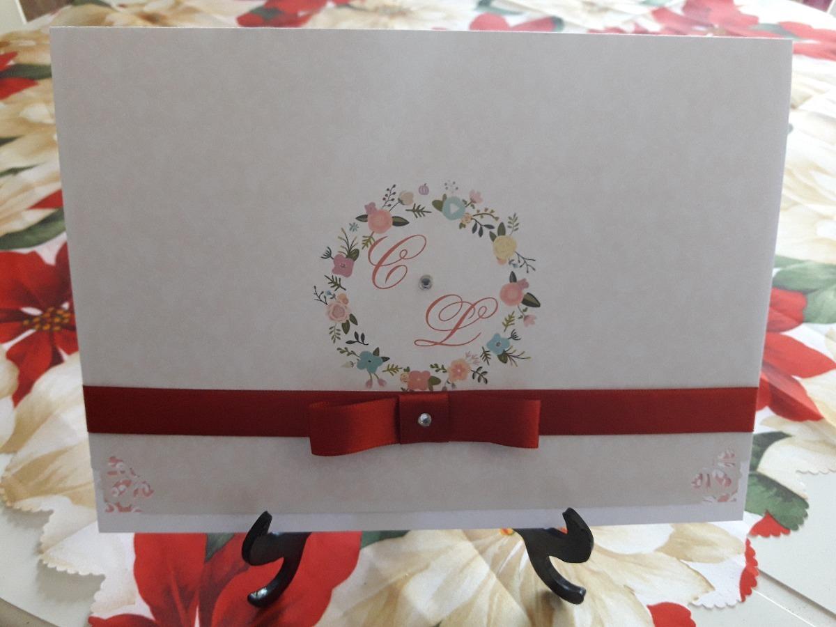 Convite Casamento 50 Unid Laco Chanel Brindes Frete R 99