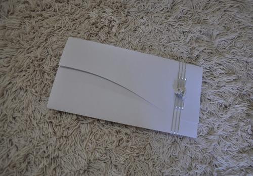 convite casamento barato 10 unds.