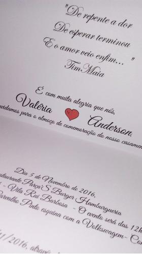convite casamento promoção convite barato noivinhos