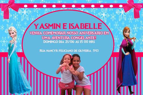 convite de aniversário infantil personalizado
