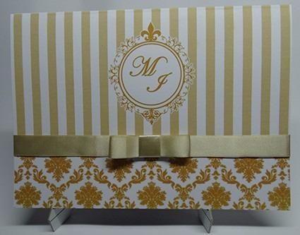 convite de casamento 2 convites por r$ 1,50 s/ fita de cetim
