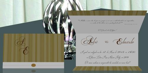 convite de casamento apenas r$ 1,00 barato!