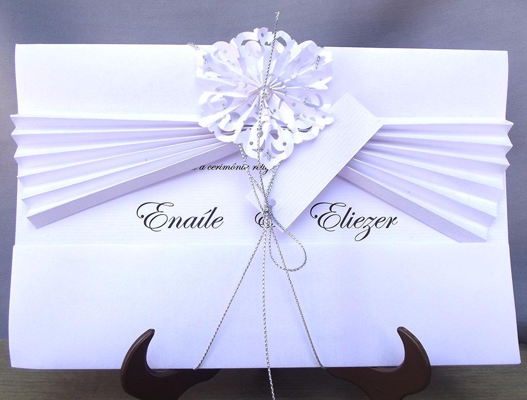 Convite De Casamento Lindo 30un E Frete Grátis R 15015 Em