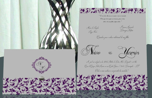 convite de casamento muito barato!