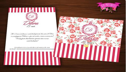 convite debutante casamento aniversário r$1,00 cada (120)