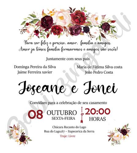 convite digital casamento/aniversário/chá