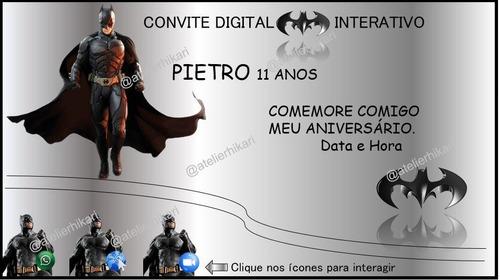 convite digital e interativo