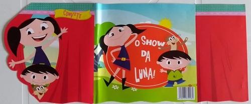 convite especial show da luna (10 unidades)