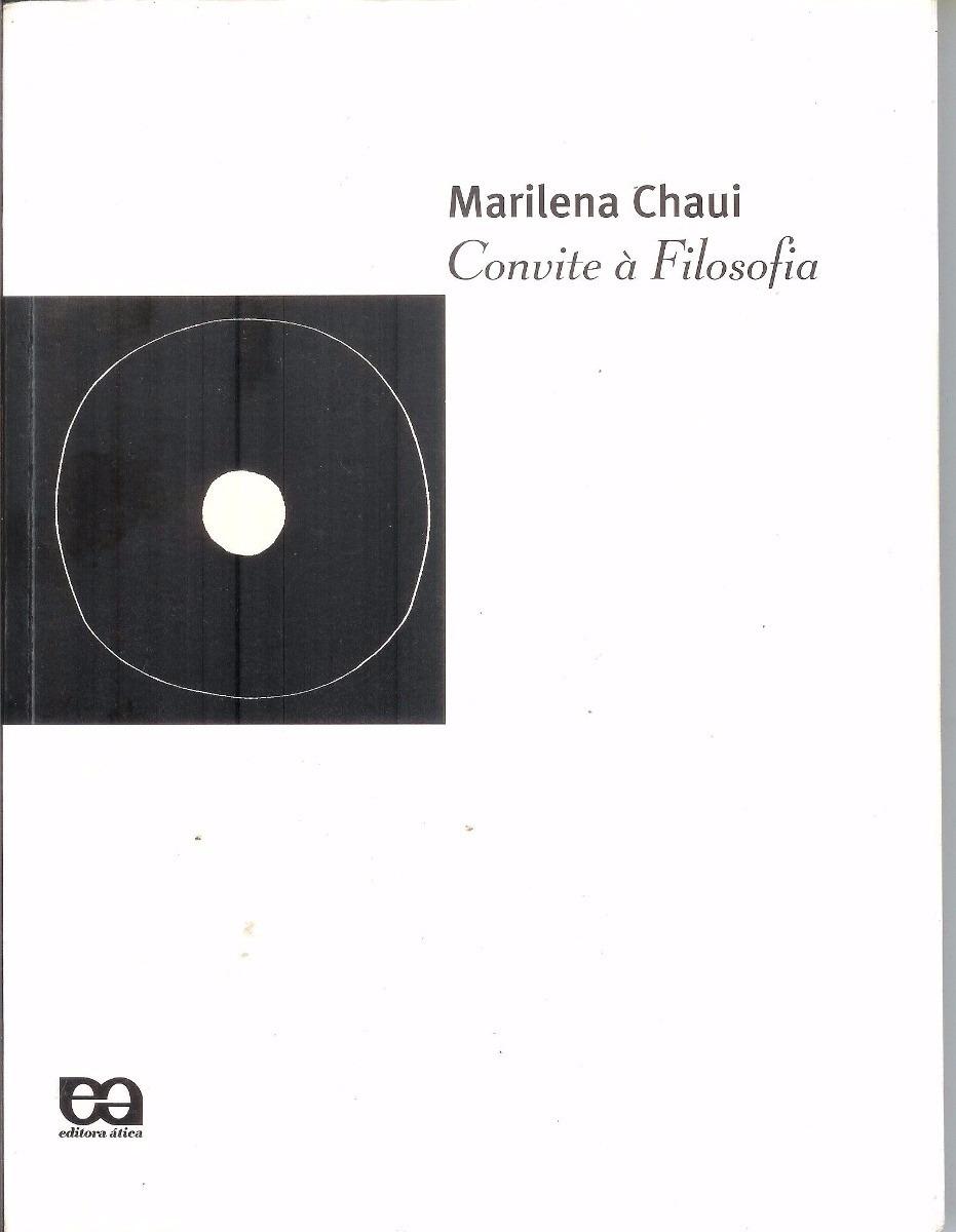 Convite à Filosofia Marilena Chaui R 8700 Em Mercado Livre