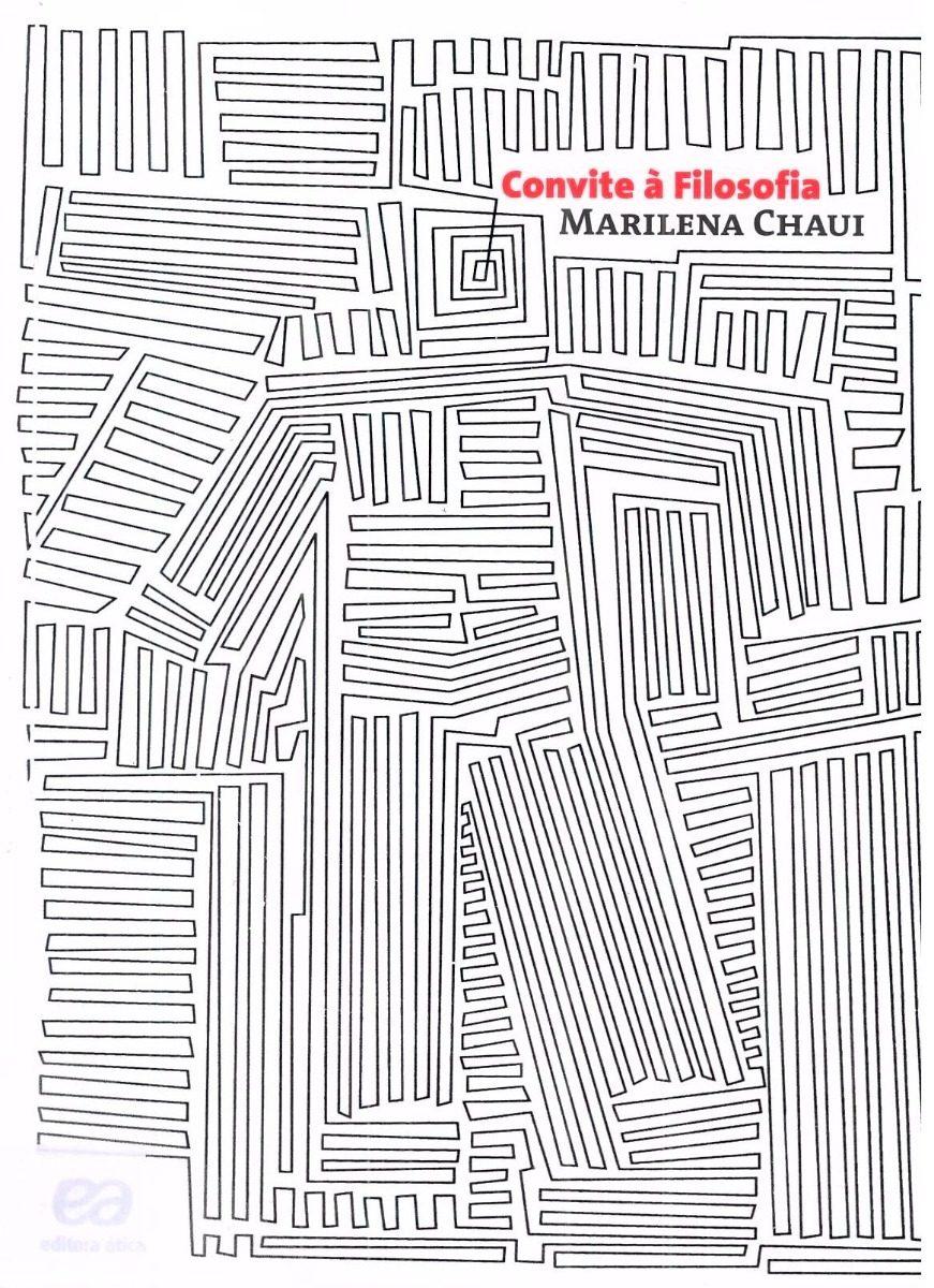 Convite à Filosofia Marilena Chaui Livro Novo R 12000 Em