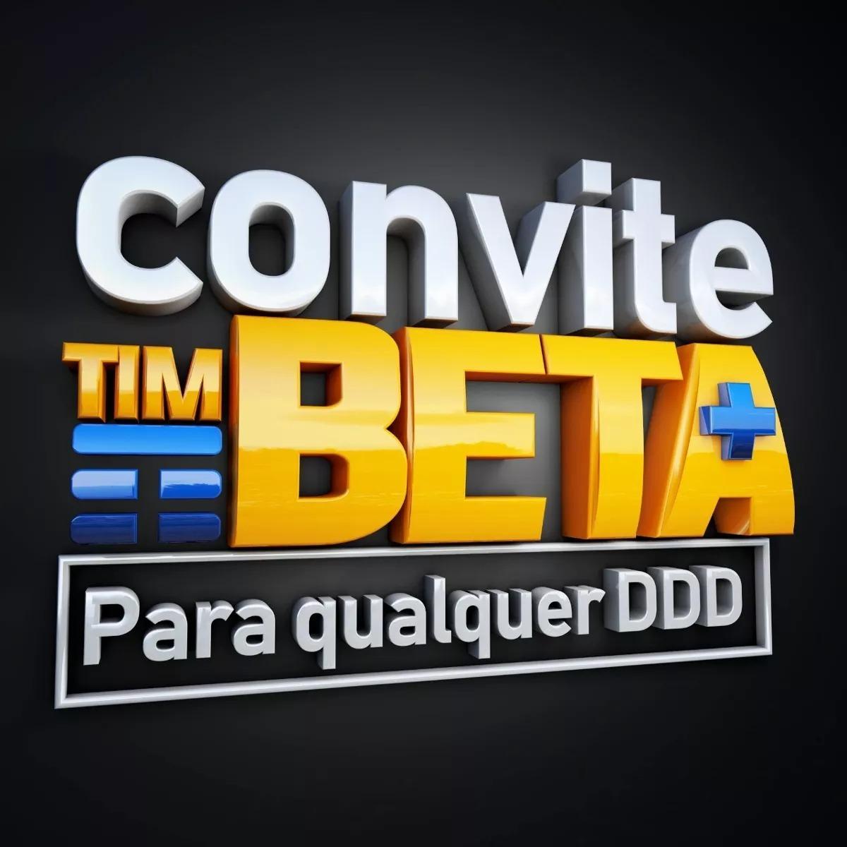 Convite Migração Tim Beta Até 35gb 2000 Min Beta Lab R 5000