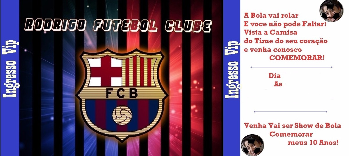 Convite Personalizado Online Brinde Barcelona R 2500 Em
