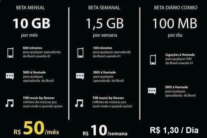 Convite Tim Beta R 3200 Em Mercado Livre