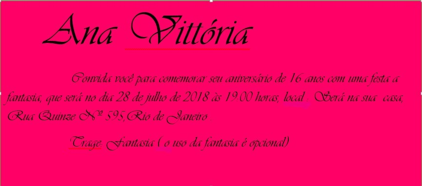 Convite Virtual 15 Anos Para Aniversário Infantil Bodas R 10