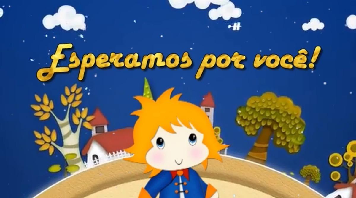 Convite Virtual Animado Pequeno Príncipe Promoção