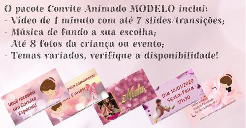 convite virtual animado (whatsapp/youtube)-modelo