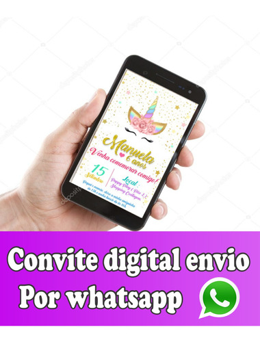 convite virtual para whatsapp todos os temas