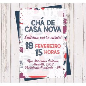 Convite Cha Casa Nova No Mercado Livre Brasil