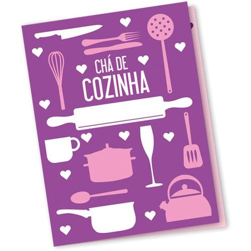 convites cha de cozinha utensilios c/10un. pct.c/10