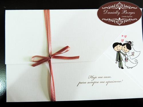 convites de casamento, aniversário, bodas, 15 anos (10 und)