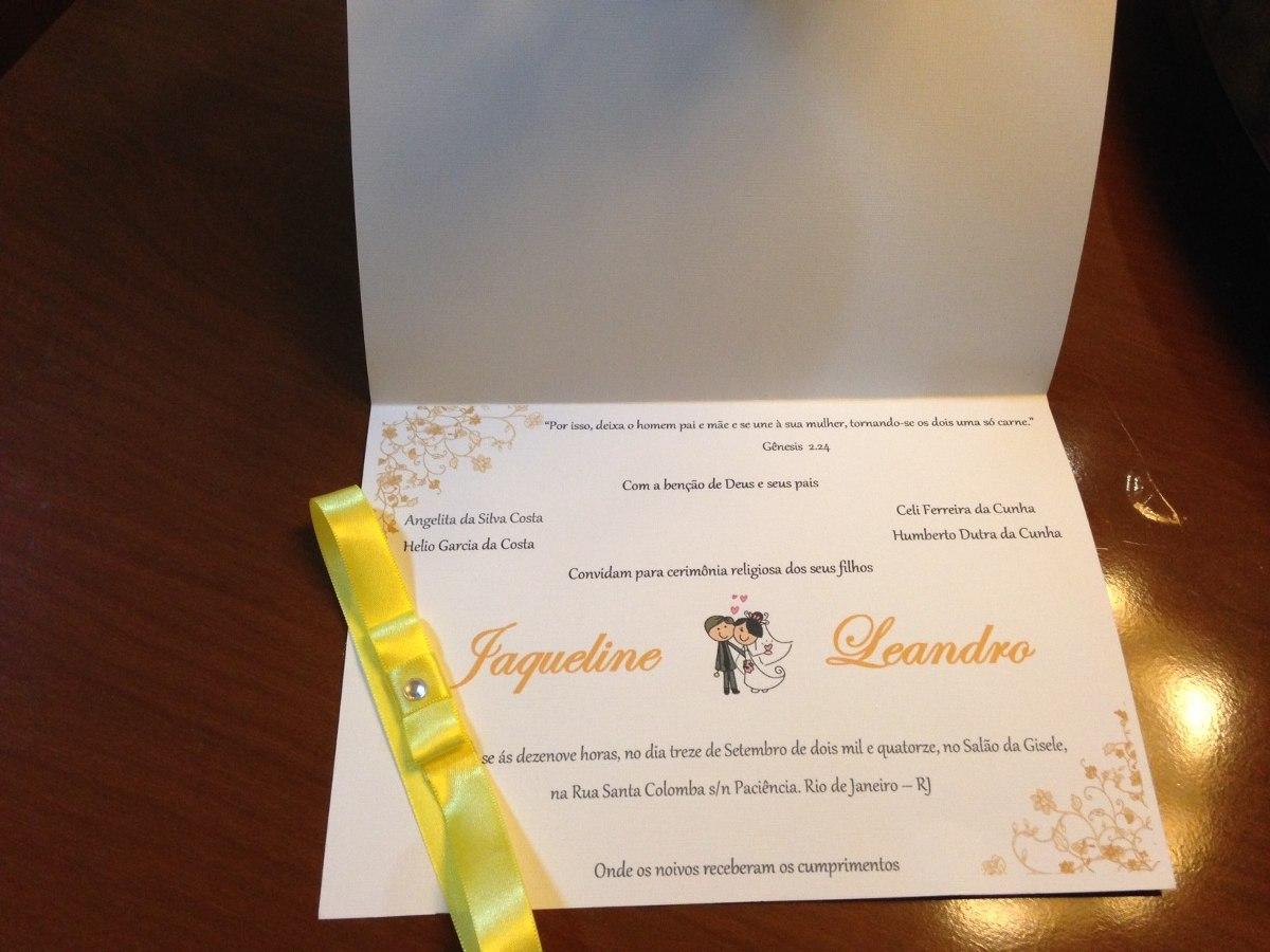 Convites De Casamento E Aniversários Preço De 10 Convites R 17