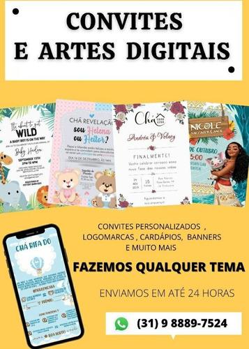convites e artes digitais