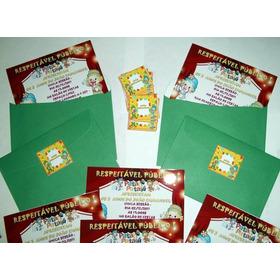 Convites Personalizados - Kit Com 50 Unidades!!!
