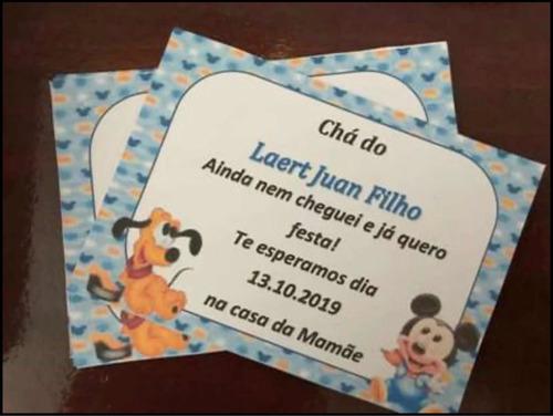 convites personalizados.