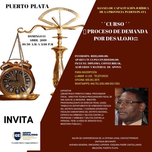 convocatoria de cursos jurídicos y migratorios abril 2019