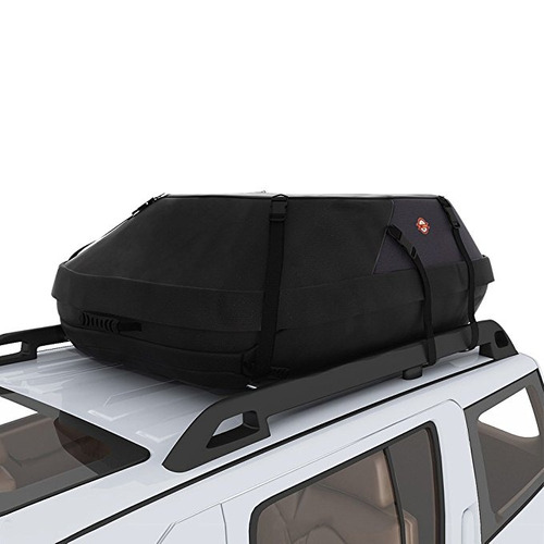 coocheer 20 pies cúbicos impermeable top car carrier techo b