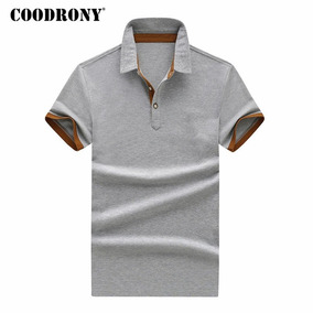 7211faa9cb1b Coodrony Camiseta Hombres Marca Ropa 2018 Verano Top Algodón