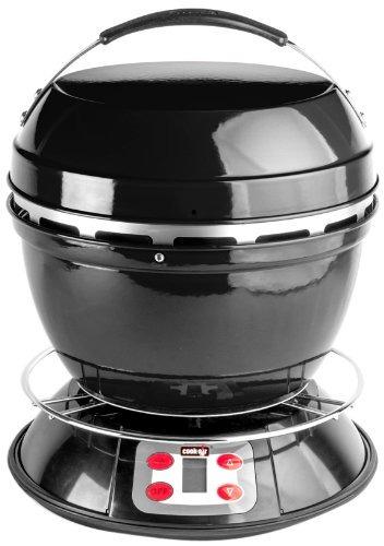 cook-aire ep bk parrilla de leña portátil, negro