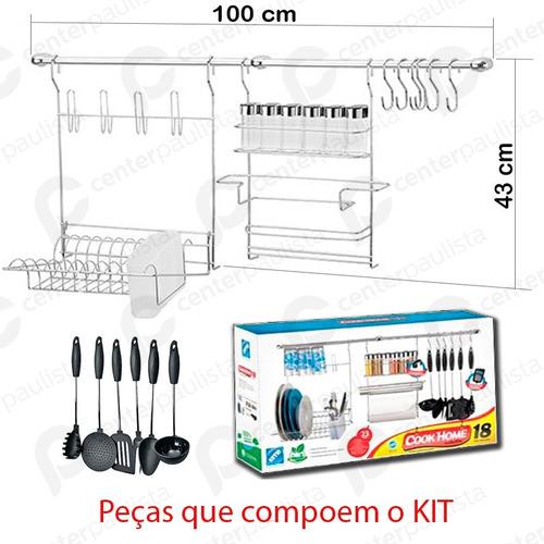 cook home 18 porta rolo escorredor prato copo arthi 1418