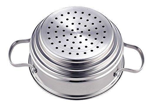 Nc-00313 Vaporizador De Caldera Doble 4Qt Silver