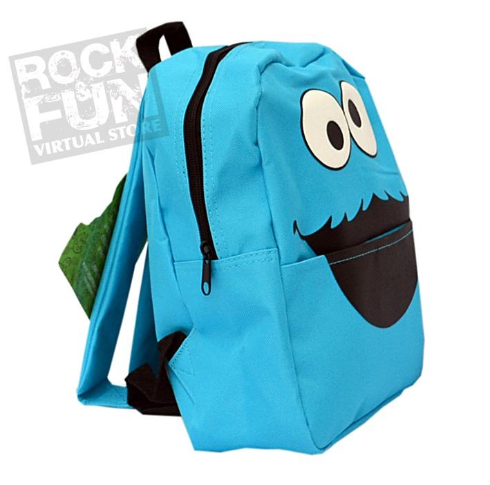 Cookie monster backpack house cookies cookie monster mochila mini backpack importada 100 original voltagebd Images