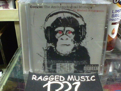 cookie the anthropological mixtape  cd