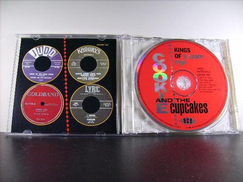 cookie & the cupcakes kings of swamp pop cd imp 30 trks av8