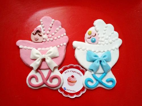 cookies decoradas baby shower nacimiento bautismo souvenir