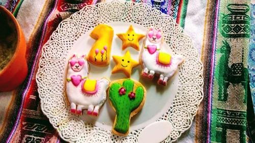 cookies decoradas con glase...combos de personajes a elegir