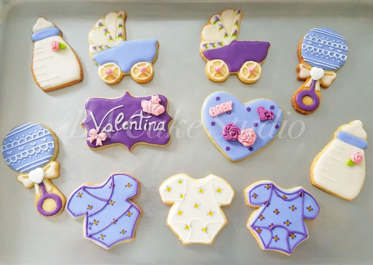 Cookies Decoradas Galletitas Cumples Baby Shower Casamiento
