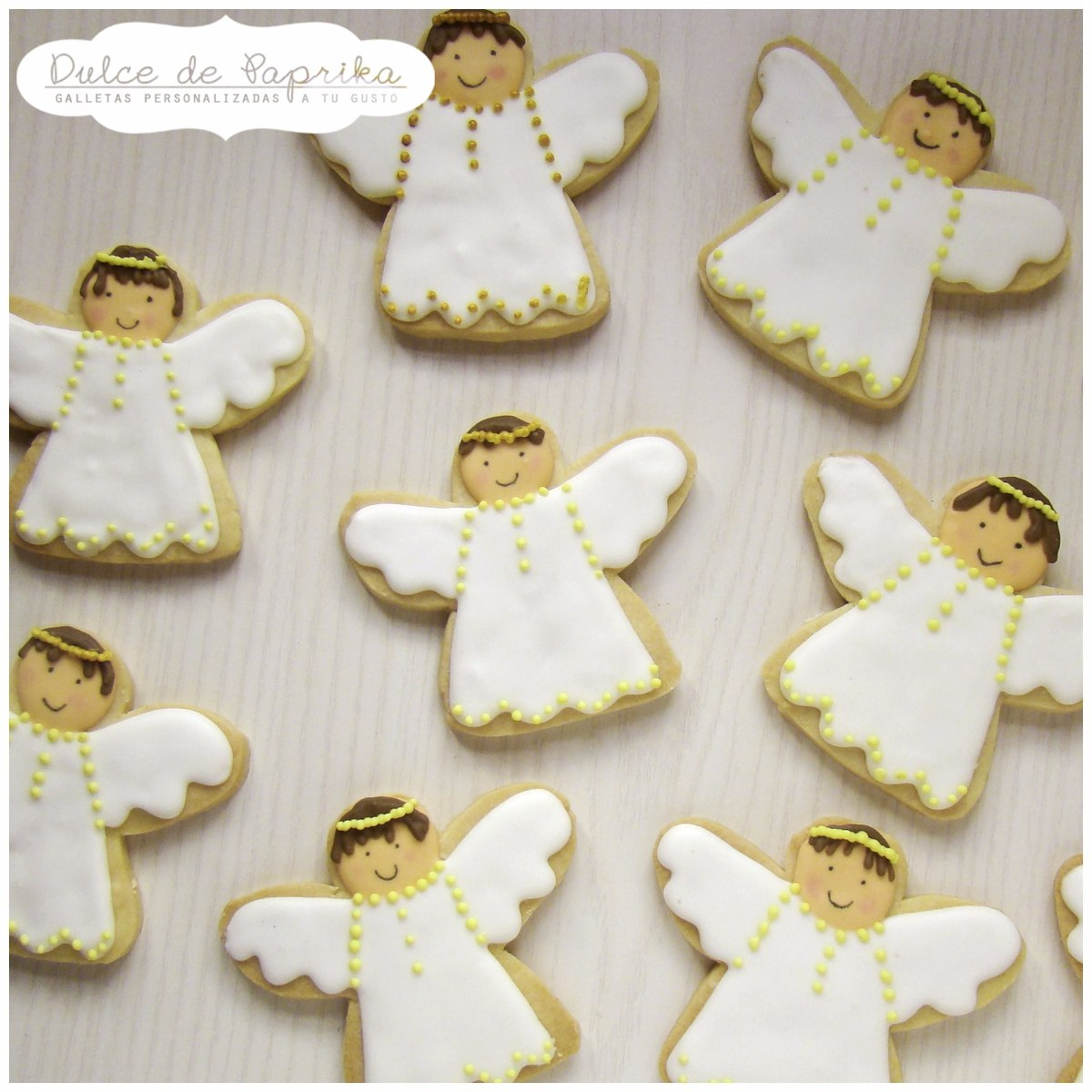 Cookies Galletas Decoradas Comunion Bautismo Souvenir