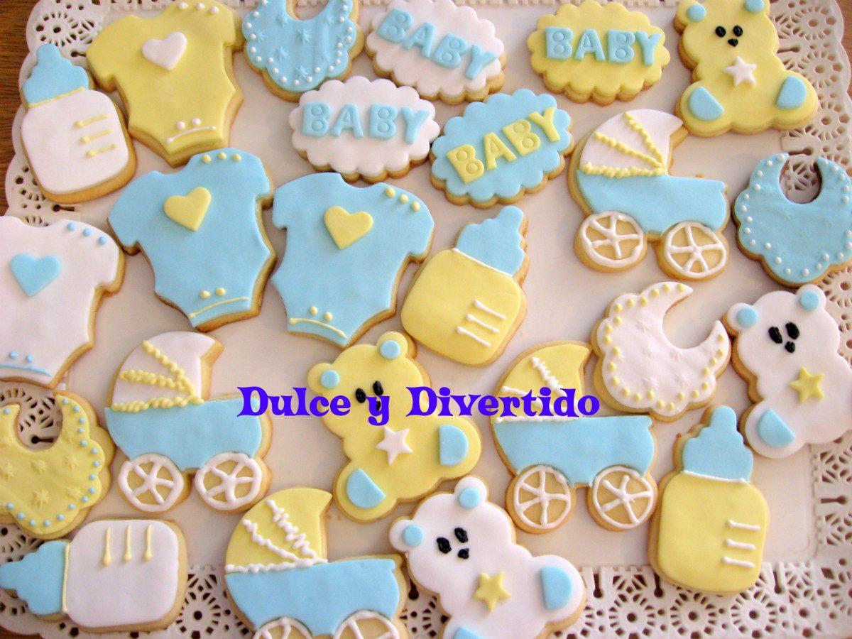 Cookies Galletitas Decoradas Baby Shower Nacimientos