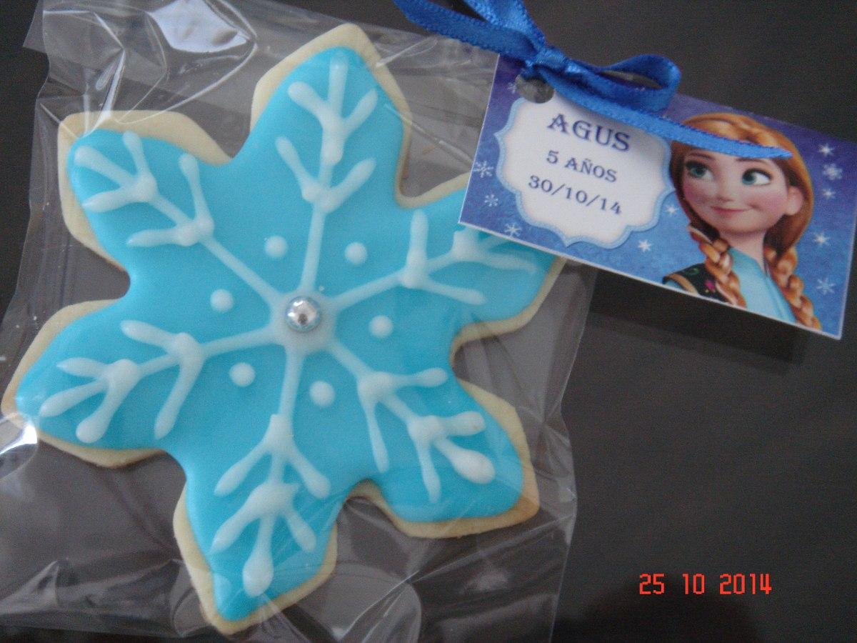 Cookies Galletitas Decoradas Frozen
