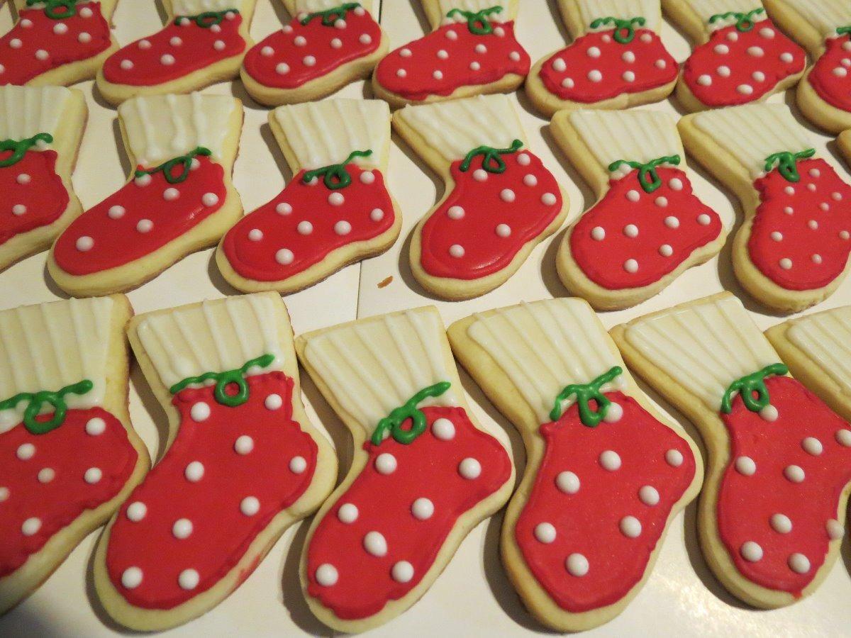 Cookies Galletitas Navideñas Decoradas Por Docena