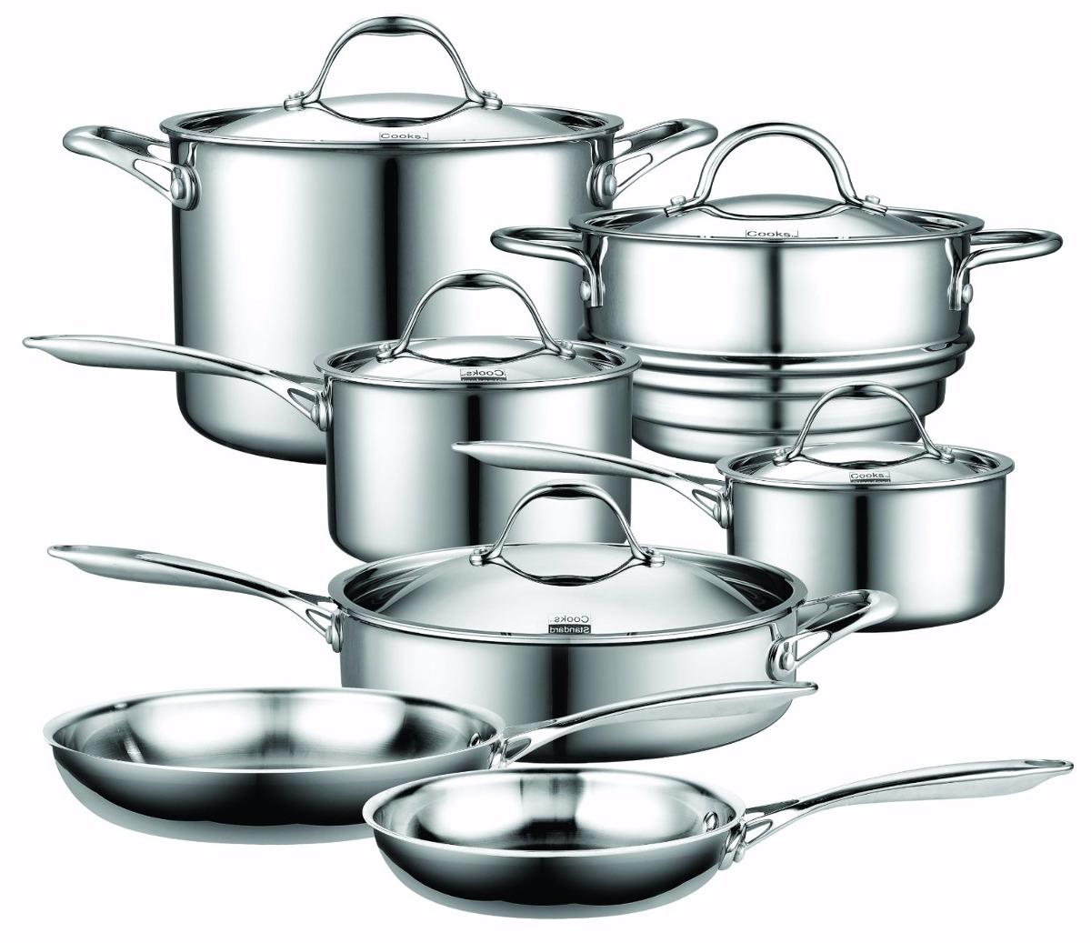Cooks Standard Utensilios De Cocina De Acero Inoxidable 12 ...