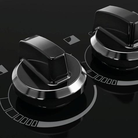 cooktop itatiaia 5 bocas tripla chama a gas  preto
