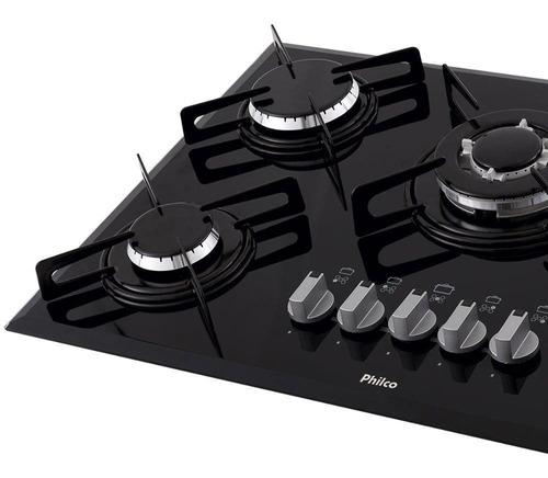 cooktop philco chef 5 tc 5 bocas acendimento automático