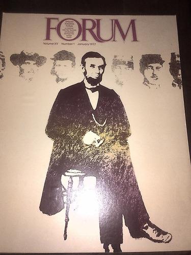 cool! poster vintage usa revista forum -1977