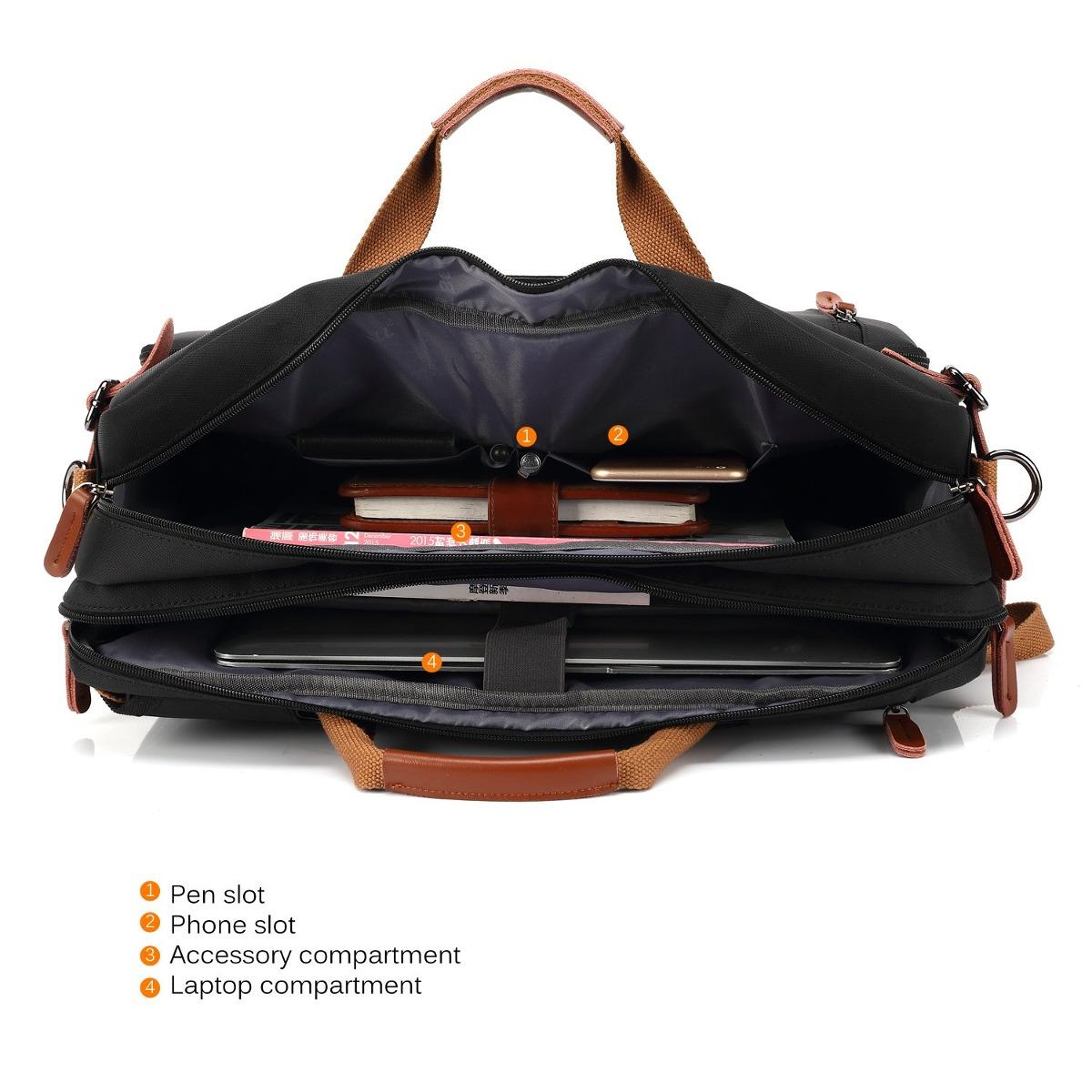 b896ce0f2fce coolbell convertible backpack messenger bag shoulder bag lap. Cargando zoom.